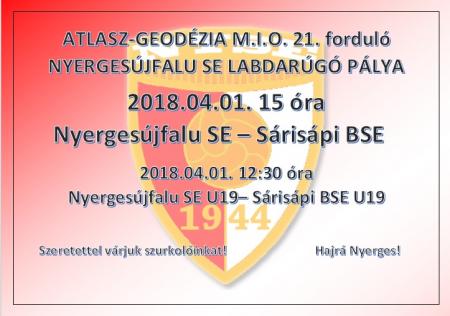 Nyergesújfalu SE - Sárisápi BSE